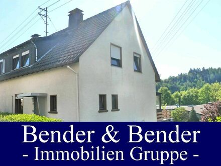 Kleine Doppelhaushälfte mit Garage und Terrasse in Kirchen!