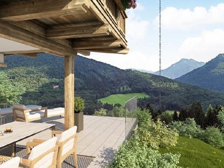 Panoramagrund für Ferienchalet