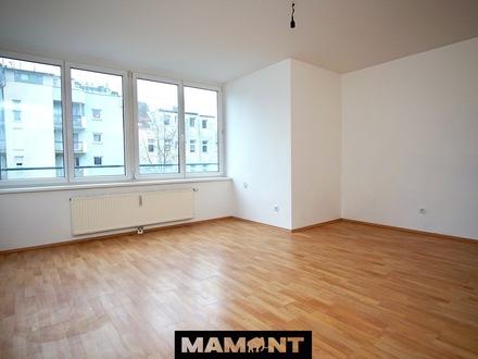 €529/Monat! 1-Zimmer Wohnung mit großer Fensterfront | Komplettküche | Blick in den grünen Innenhof (1.14)