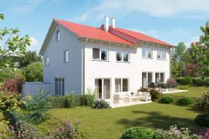 Neue Einfamilienhäuser (DHH) in Michelbach/Bilz