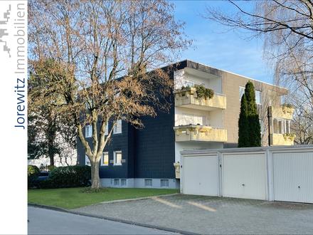 Bi-Hillegossen: Gut aufgeteilte 3 Zimmer-Wohnung mit schönem Sonnenbalkon