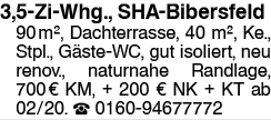 Helle 3,5 Zi Whg., Bibersfeld