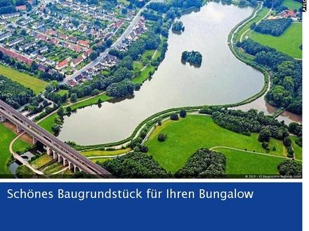 Sonniges Baugrundstück 562m² nahe Obersee - für schicken Bungalow