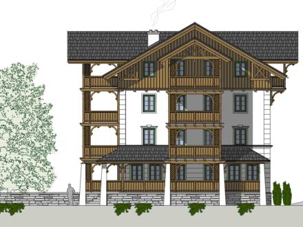 Zentral gelegene Neubau Luxus EG- Wohnung mit 2 Terrassen und direktem Gartenzugang