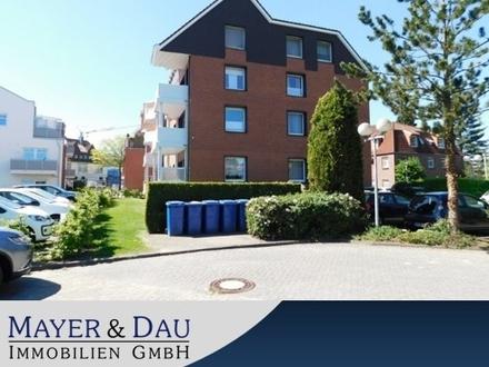 Westerstede: Kapitalanleger aufgepasst! 2-Zimmer-Wohnung in zentraler Lage, Obj. 4259