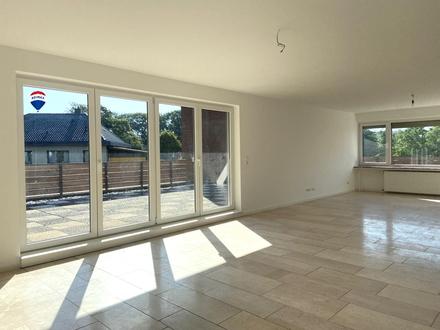 Moderne 4 Zimmer Wohnung mit Dachterrasse am Vechtaer Moorbach!