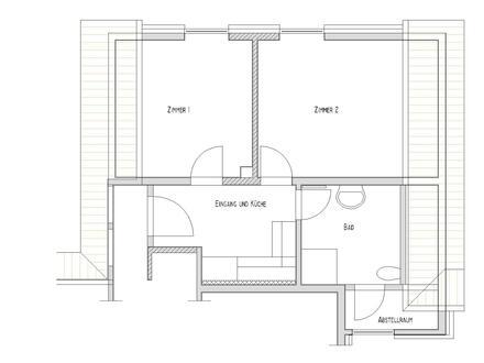 Wohnung 2 Zimmer Küche und Bad in Kattenvenne zu vermieten