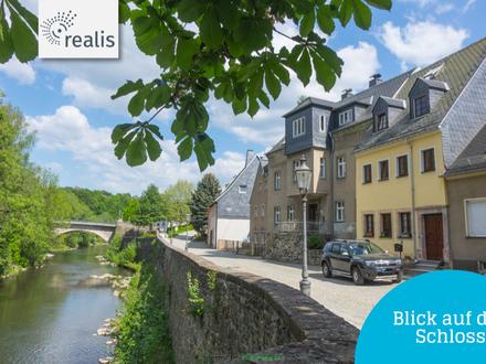 Wohnen mit Blick in die Natur, der Burg zu Füßen+++vermietetes Reihenmittelhaus in Zschopau