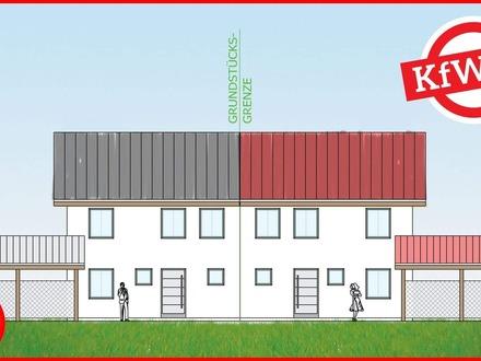 Neubau - moderne Doppelhaushälfte in Hengersberg