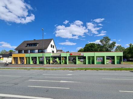 Kapitalanlage (Wohn- u. Geschäftshaus) an der B61 von Gütersloh