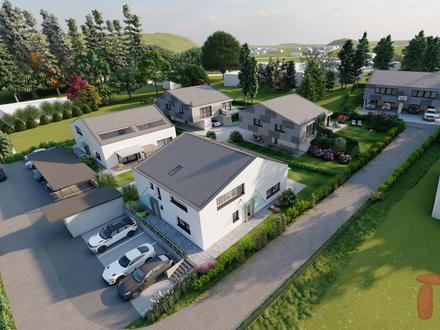 Neubau Doppelhaushälfte in sonniger und ruhiger Lage (Top 3)
