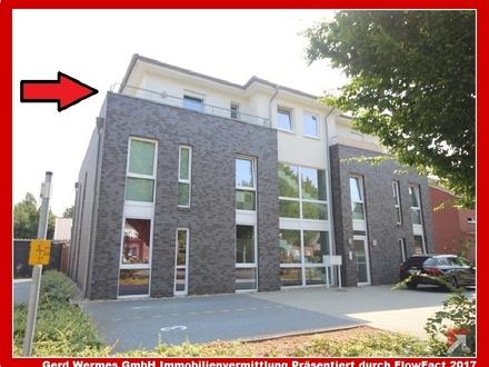 Penthouse-Wohnung (2 ZKB) mit umlaufenden Balkon in Haren zu vermieten!