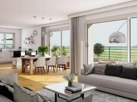 Penthouse-Traum auf zwei Ebenen - große 4-Zimmer-Wohnung !