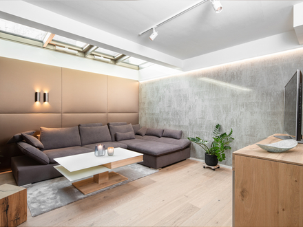 Exklusiv möblierte Garten-Maisonette in bester Lage Nonntal
