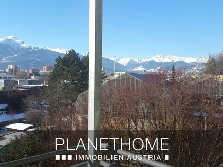 Die Aussicht auf Innsbruck