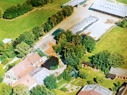 Lintig: Als Altenresidenz, Reiterhof, viels. Immob. 65.000 m2, Kurortnähe, Zugang,z. See, Obj. 4753