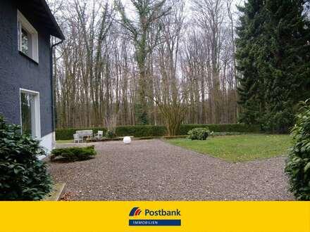 Einfamilienhaus in ruhiger Lage am Waldrand mit Blick auf den Deister