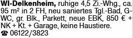 4-Zimmer Mietwohnung in Wiesbaden (65205)