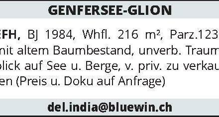 GENFERSEE-GLION EFH, BJ 1