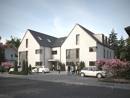 Neubau: exklusive Eigentumswohnung im ersten Obergeschoß