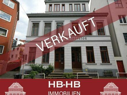 Historisches Mehrfamilienhaus (DHH) in Bestlage Nähe Contrescarpe