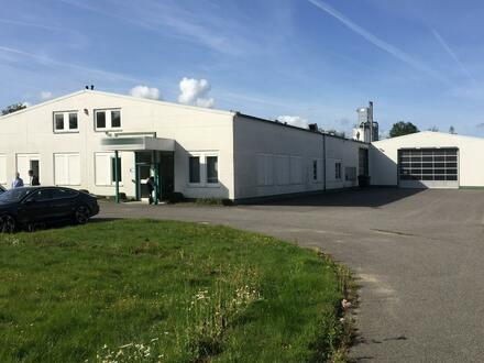 Produktions- & Lagerhalle in Autobahnnähe