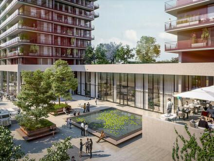 TrIIIple - Wohnen zwischen City, Prater, Hauptbahnhof und Flughafen direkt am Donaukanal