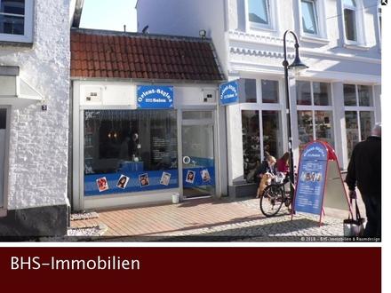 Attraktive Ladenfläche in der Schleswiger Fußgängerzone