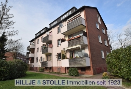 Helle und gut strukturierte Eigentumswohnung in Oldenburg - Bürgerfelde! Bezugsfreie Übergabe!