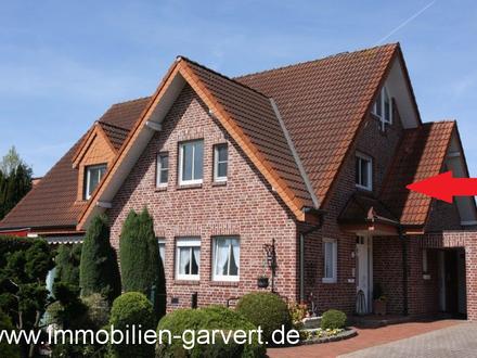Schöne Maisonette-Eigentumswohnung im Dachgeschoss eines 2-Familienhauses mit 2 Loggien in Borken