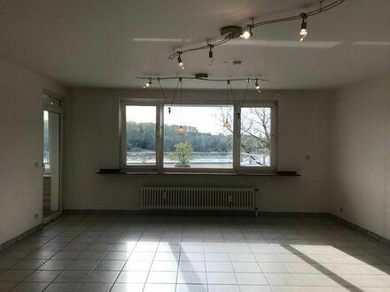 Hell + Ruhig: Wohnen mit Rheinblick in Köln - Porz - Ensen! 1 - Zimmer - Wohnung mit ca. 69 qm².