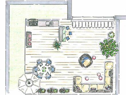 Dachterrasse mit möglicher Outdoorküche