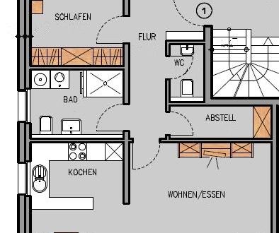Erstbezug, helle, ruhige, barrierefreie Wohnung