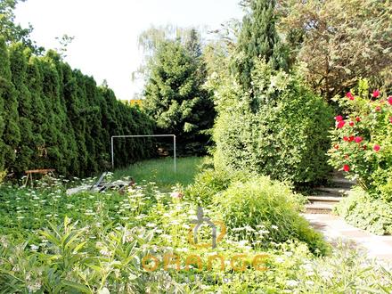 **Einfamilienhaus mit großem Grundstück, bzw. Schönes Grundstück mit Altbestand, direkt an der B17**