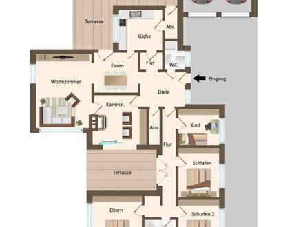 Außergewöhnlich großes Einfamilienhaus in zentraler Lage in Lohne