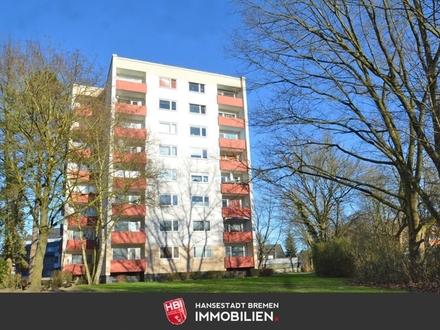 Osterholz / Ansprechende 2-Zimmer-Wohnung mit Loggia