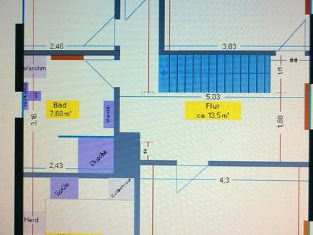 Kernsanierte 3 Zimmer-Küche-Bad-Wohnung