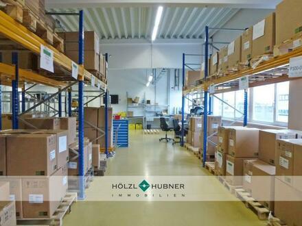 Helle Hallenfläche - ideal für Kleinteile-Produktion