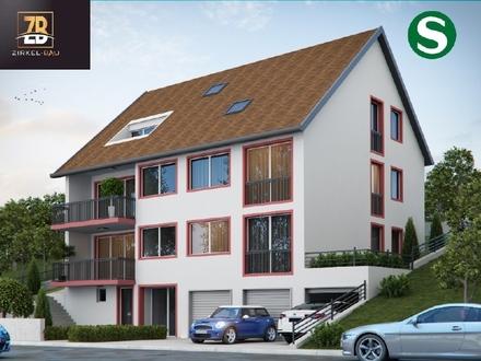 """Best Ager aufgepasst - großzügige 3,5-Zi.-Neubauwohnung in Leonberg-Silberberg"""