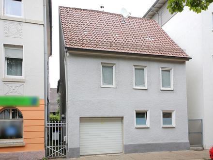 Einfamilienhaus in zentraler Lage von Göppingen mit Garage und Ausbaupotential
