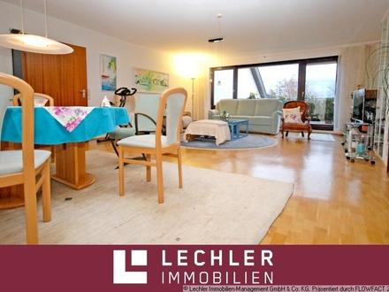 Gepflegte 4,5-Zimmer-Wohnung mit großem Balkon