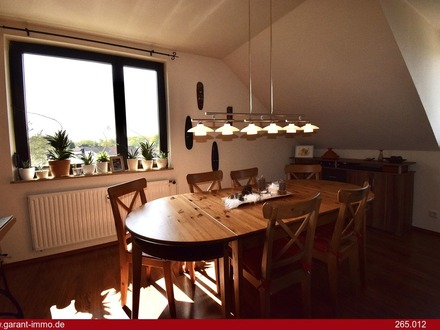Charmante Maisonette-Wohnung in Naturschutzgebiet