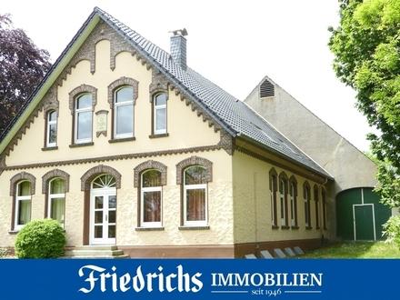 Exklusives Landhaus-Anwesen in Alleinlage nahe Nordseebad Tossens (Halbinsel Butjadingen)