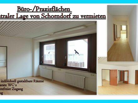 **Büro-/Praxisfläche mit ca. 131 qm in bester Lage in Schorndorf**