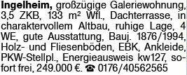 3-Zimmer Eigentumswohnung in Ingelheim (55218)