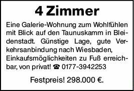 4-Zimmer Eigentumswohnung in Taunusstein (65232)