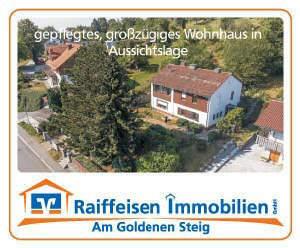 großzügiges, freistehendes Einfamilienhaus in unverbaubarer Lage im Markt Perlesreut