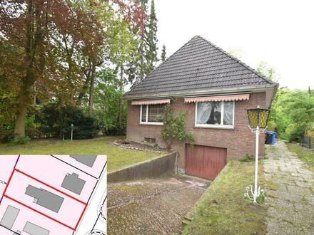 Jetzt ein Grundstück in bester Lage von Emden sichern! Sanierungsbedürftiges Wohnhaus auf schönem Grundstück in Emden - Wolthusen!