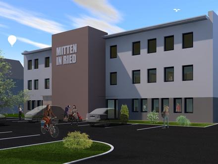 MITTEN IN RIED - Neu geplantes Büro- und Dienstleistungszentrum