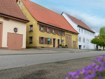 Bauernhaus mit viel Platz und Fläche